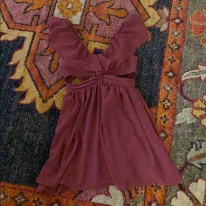 Purple Keepsake the Label Dress
